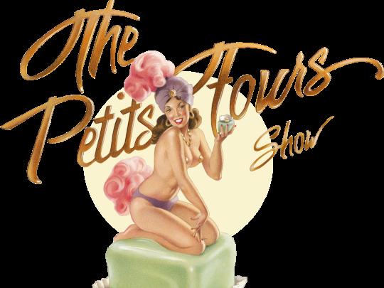 Künstlervermittlung: Logo The Petits Fours Show Frankfurt - Künstleragentur | DIE ALLESLÖSER
