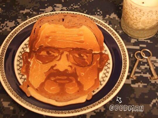 Pancake Portraits