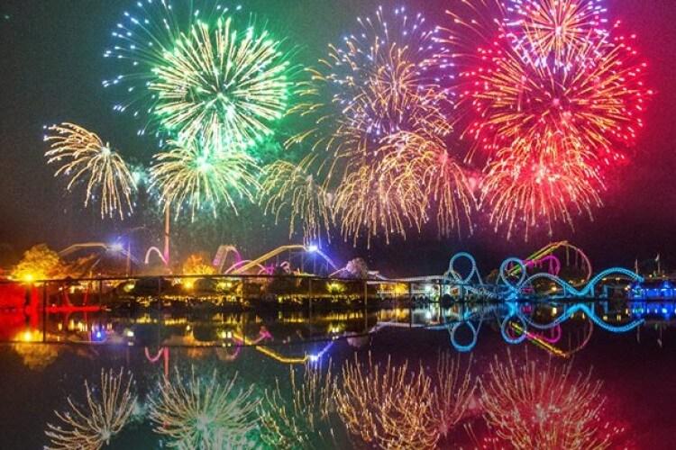 Feuerwerk Heide Park