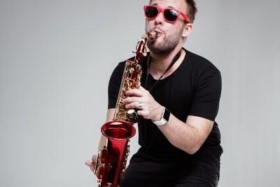 Christian Gastl mit Sonnenbrille