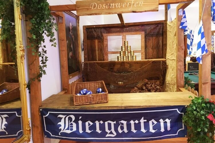 Oktoberfest Biergarten