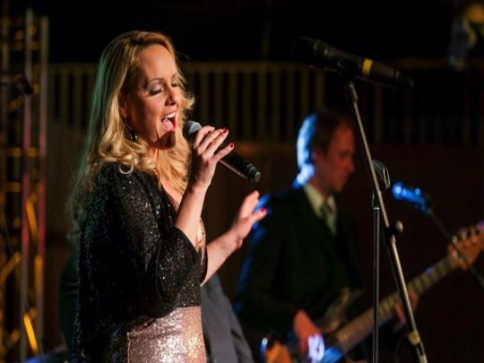 Ricarda Ulm auf einer Bühne