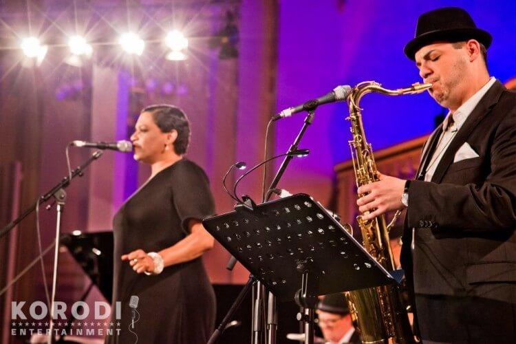 Jazz meets Classic Sängerin mit Instrumentalist