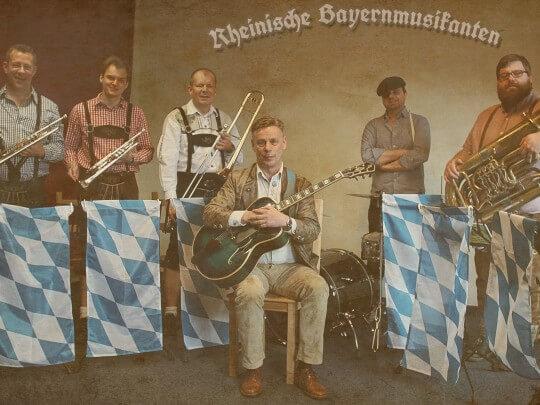 Künstlervermittlung: Rheinische Bayernmusikanten Frankfurt - Künstleragentur | DIE ALLESLÖSER
