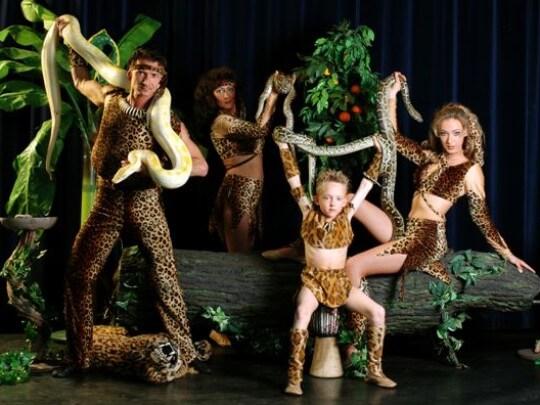 Tarzan und Jane-Show