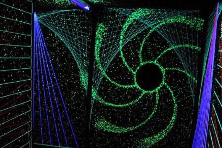 Lichtsonne Fädenkunst