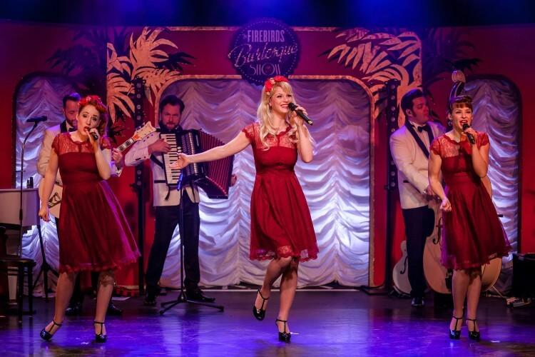 The Pearlettes auf der Bühne