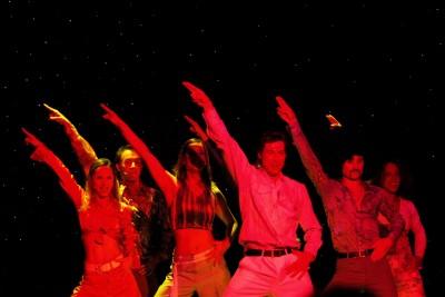 Tänzer Saturday Night Fever
