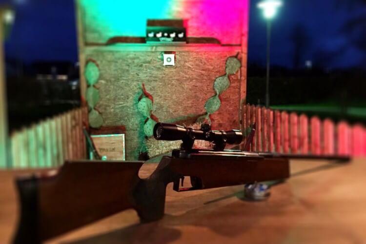 Luftgewehr schiessen