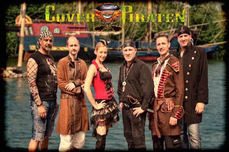 Gruppe von Piraten