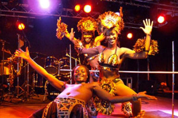 afrikanische Tänzer
