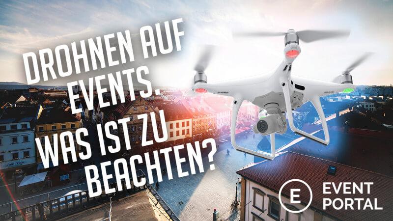Drohnen auf Veranstaltungen Cover