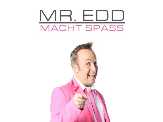 Künstlervermittlung: MR. Edd im rosafarbenen Anzug Frankfurt - Künstleragentur | DIE ALLESLÖSER