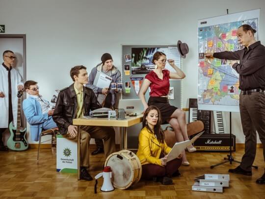 Künstlervermittlung: Der Kommissar und die SOKO Wien Frankfurt - Künstleragentur | DIE ALLESLÖSER