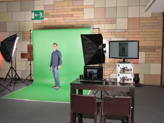 Fotoaktion Greenscreen