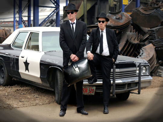 Blues Brothers Polizeiwagen