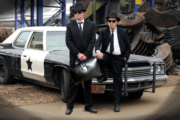 Blues Brothers Polizeiwagen