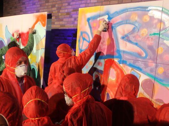 Graffiti sprayen