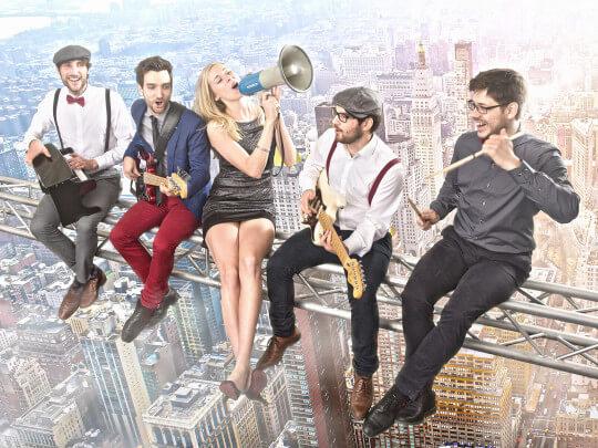 Künstlervermittlung: live!style über NYC Frankfurt - Künstleragentur | DIE ALLESLÖSER