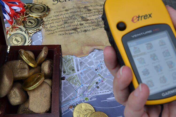 GPS Gerät Landkarte