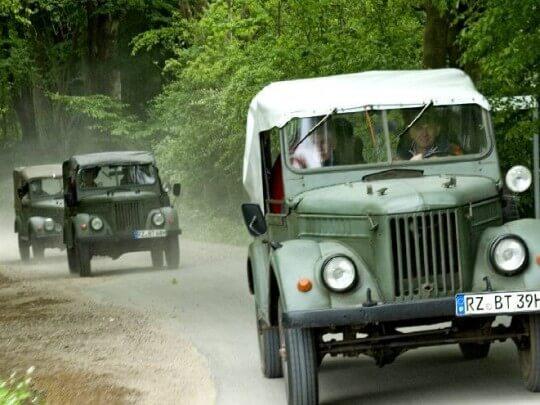 Oldtimer Jeep