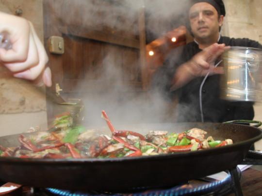 Pfanne kochen koch