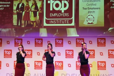 The Pearlettes LIVE bei top employers 2017 Düsseldorf