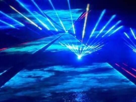 Künstlervermittlung: Lasershow Frankfurt - Künstleragentur | DIE ALLESLÖSER