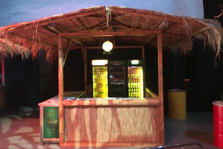 Karibik Hütte