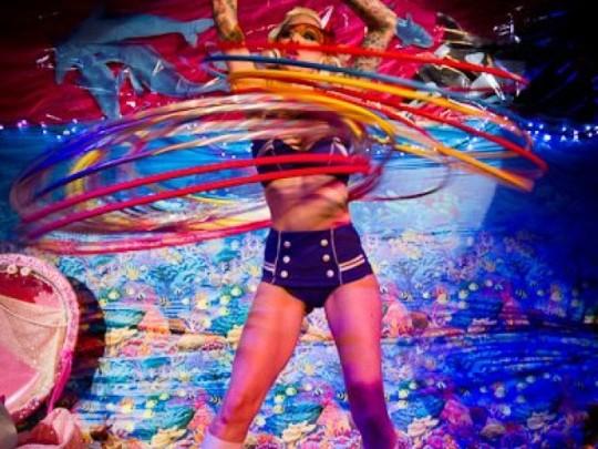 Hula-Hoop-Lichtshow