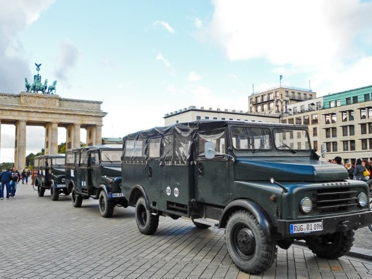 Jeeps in Berlin