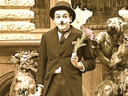 Künstlervermittlung: Charlie Chaplin Double Frankfurt - Künstleragentur | DIE ALLESLÖSER