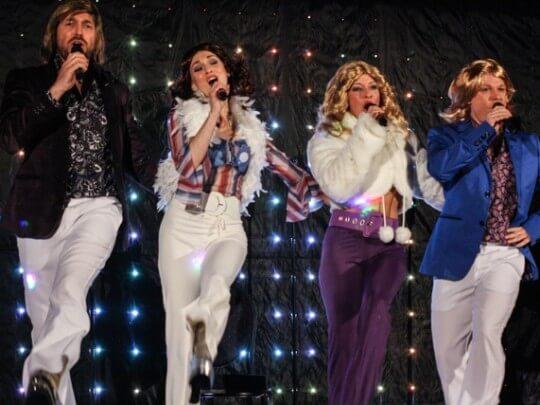 Künstlervermittlung: ABBA Cover Frankfurt - Künstleragentur | DIE ALLESLÖSER