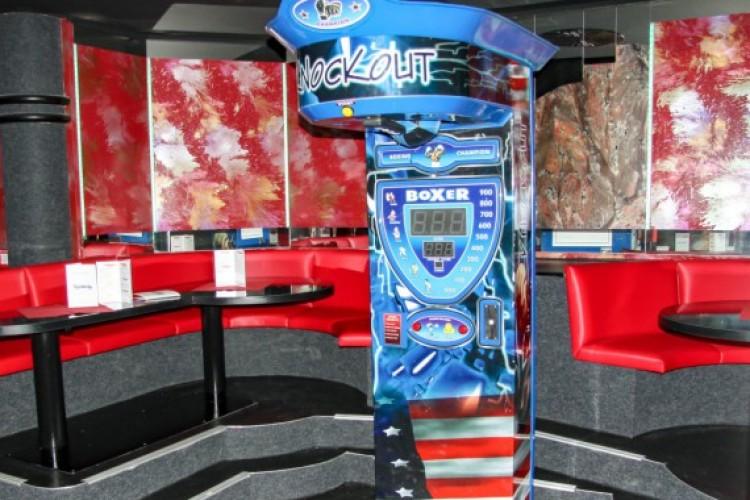 Boxautomat blau
