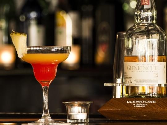 Cocktailglas Spirituosen