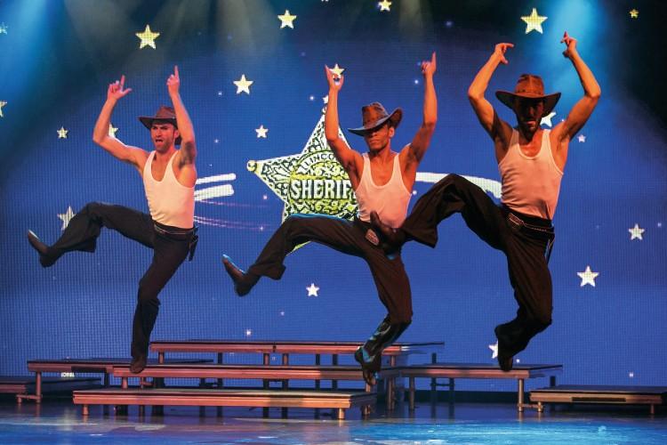 Männer mit Cowboyhüten