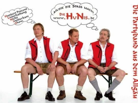 Künstlervermittlung: HuNis Band Frankfurt - Künstleragentur | DIE ALLESLÖSER