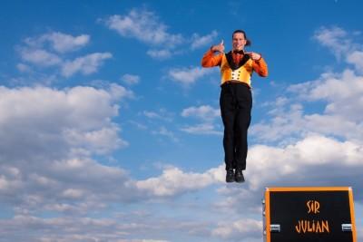 Julian in der Luft