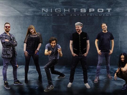 Künstlervermittlung: Nightspot Frankfurt - Künstleragentur | DIE ALLESLÖSER