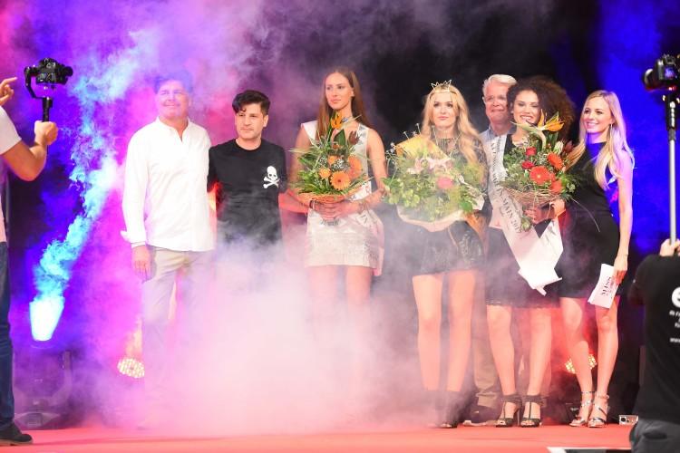 Syra Feiser bei einer Miss-Wahl