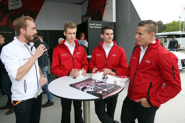 Felix Uhlig bei Audi