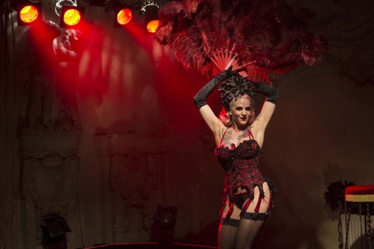 Belle La Donna Burlesque Show; Copyright: Sandra Höver