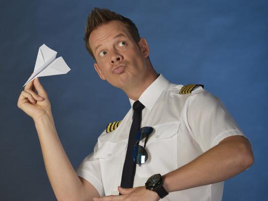 Marco Brueser als Pilot