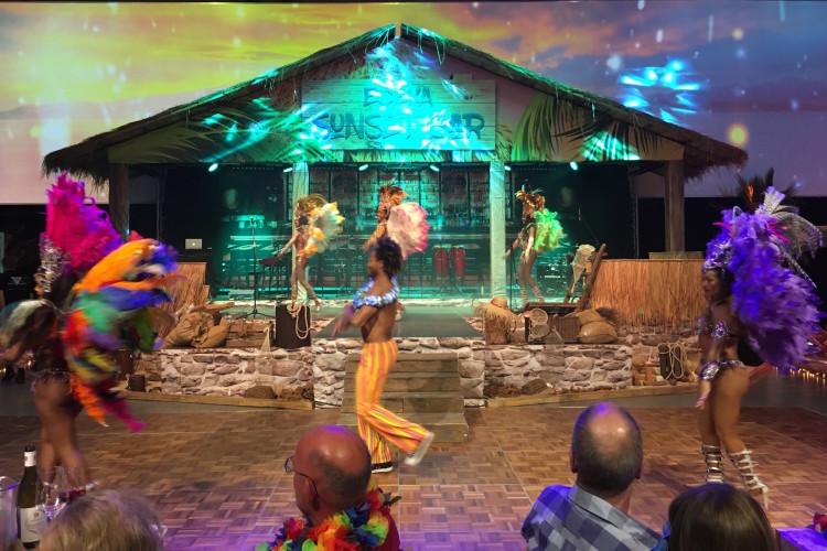 Karibik Bühne Dekoration