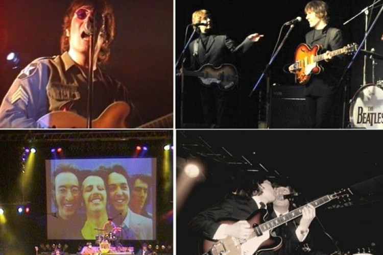 Beatles Tribute Band Collage