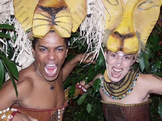 Dschungelshow