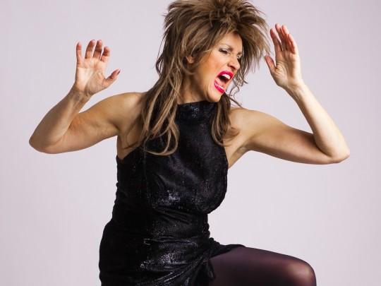 Ellen Obier als Tina Turner